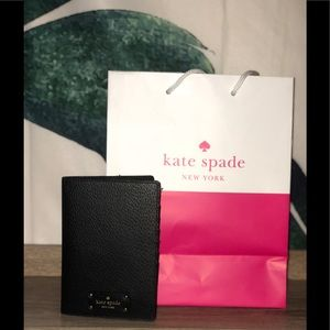 NWT Kate Spade ♠️ Passport Wallet